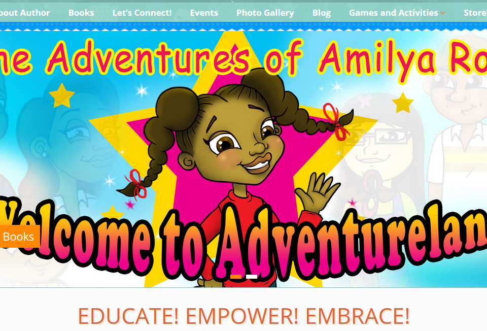 Amilya Rose Website powered by UNI Marketing Media Solutions