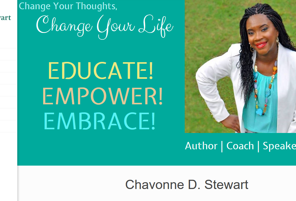 Chavonne D. Stewart Website powered by UNI Marketing Media Solutions