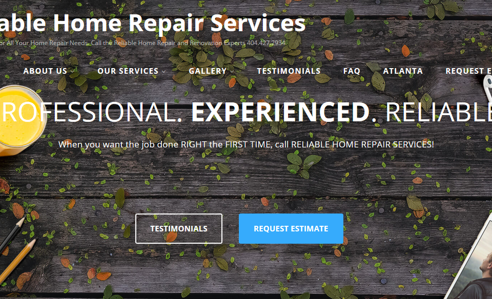www.ReliableHomeRepairServices.com
